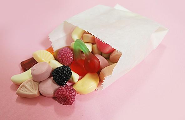 Candybar Tüte / Beutel