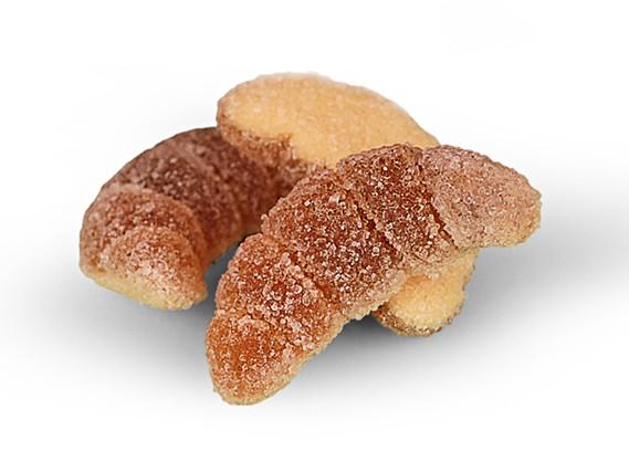 Croissant französisches Hörnchen mit Füllung