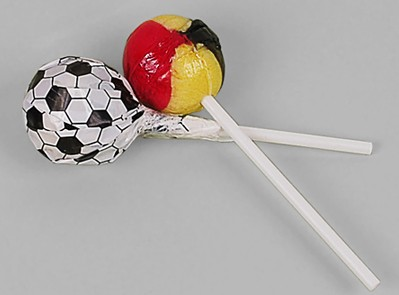 Fußball Lolly