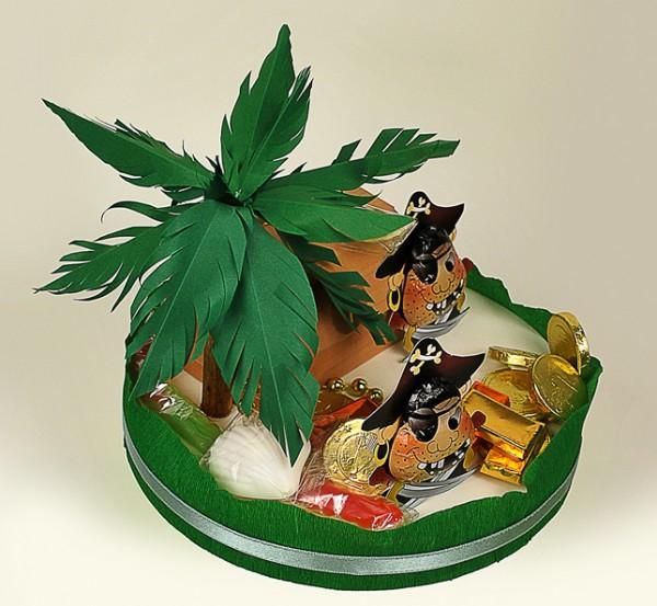 Piraten- Insel-Torte